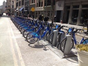 NYC Citi Bike Bicycle Rack
