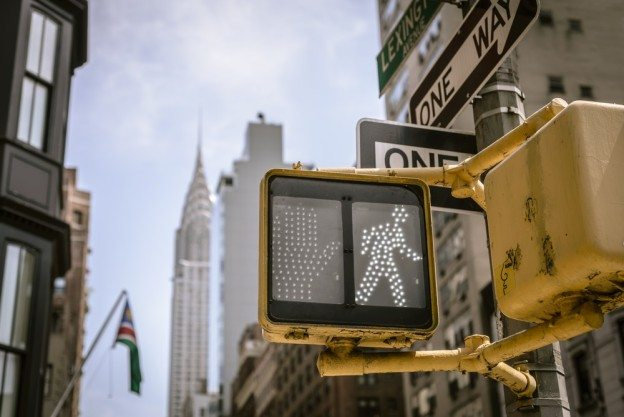 New York City Crosswalk