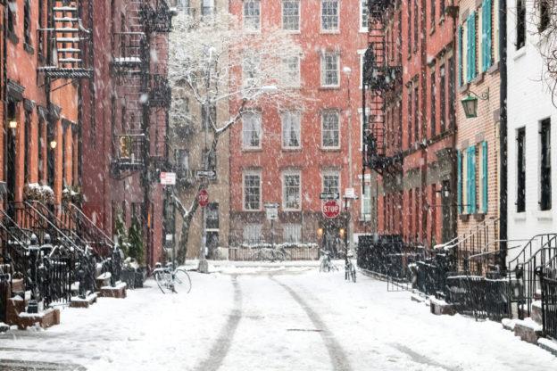 NYC Sidewalks in the Snow